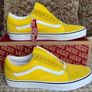 Vans Old Skool Cyber Yellow/True White men's